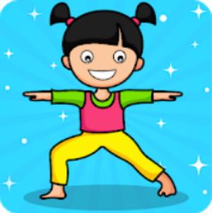 Йога для детей и семейного фитнеса